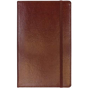 C.R. Gibson Brown Bonded Leather Journal, 240 Ruled Pages