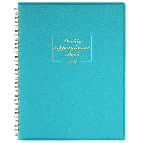 2021 Weekly Appointment Book & Planner - 2021 Daily Hourly Planner 8.4