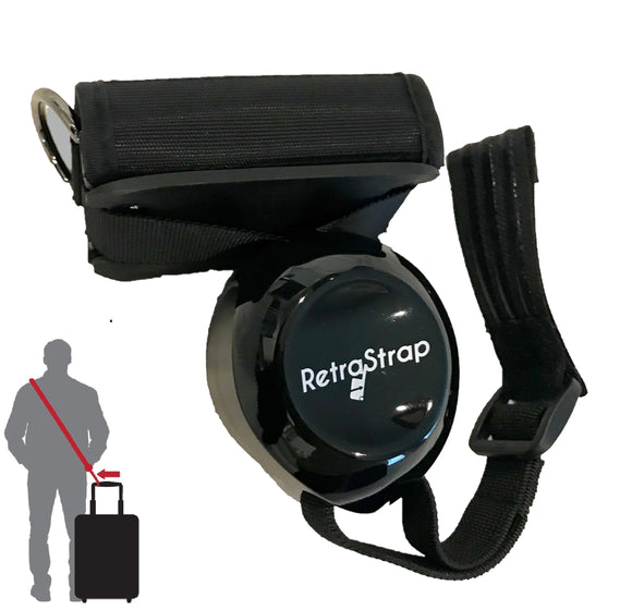 (U.S.) RetraStrap Hands Free your carry-on luggage - Anti theft.