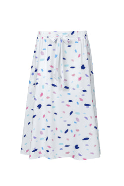 SS original print cloche skirt
