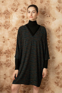 FW V batwing dress
