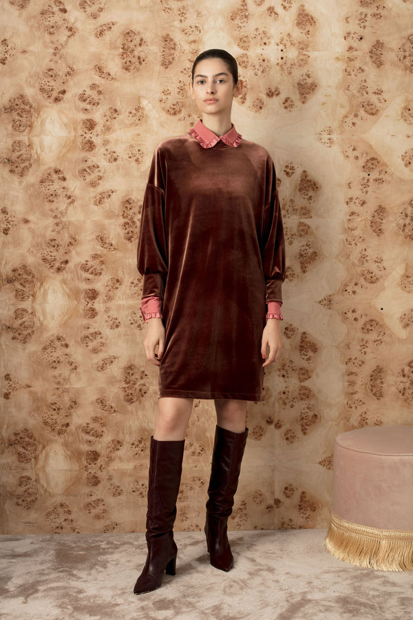 FW velvet sweater dress