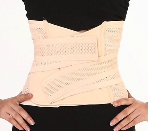 Postpartum Recovery Belly Abdomen Waist Slimming Shaper Wrapper Belt Breathable