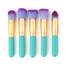 Load image into Gallery viewer, 10pcs Foundation Powder Makeup Brush - quiescentmind.com