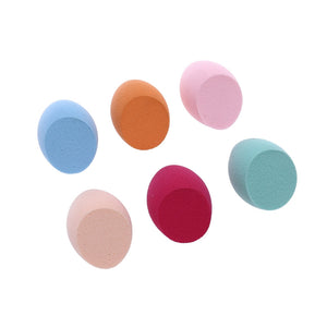 6pcs Small Size Water Drop Powder Puff Applicator - quiescentmind.com