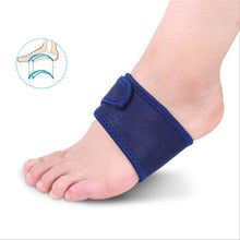 Load image into Gallery viewer, A Pair of Bandage Arch Support Flat Feet Arch Support Pads Flatfoot Bandage Insoles - quiescentmind.com