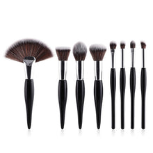Load image into Gallery viewer, Premium Makeup Brush Kit - 8 Piece Set - quiescentmind.com