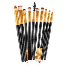 Load image into Gallery viewer, 10pcs Makeup Brush Set tools Make-up Toiletry Kit Wool Make Up Brush Set GD - quiescentmind.com