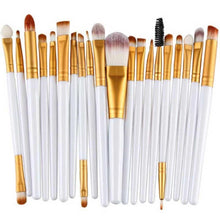 Load image into Gallery viewer, 20 pcs Makeup Brushes Set Foundation Eyeshadow Eyeliner Lip Cosmetic Brush - quiescentmind.com