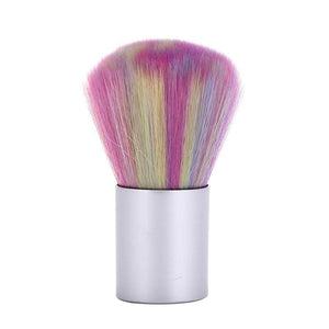 Nail Art Rainbow Brush Hair Dust Brush Color Brush Nail Brush Manicure Tools Cleaning Brush - quiescentmind.com