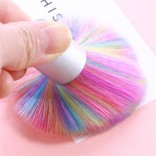 Load image into Gallery viewer, Nail Art Rainbow Brush Hair Dust Brush Color Brush Nail Brush Manicure Tools Cleaning Brush - quiescentmind.com