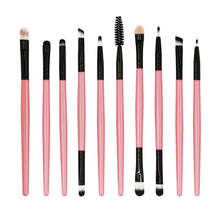Load image into Gallery viewer, 10pcs/set Makeup Brush Set tools Make-up Toiletry Kit Wool Make Up Brush Set - quiescentmind.com