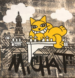 M.Chat (Thoma Vuille) - Chat fait le mur