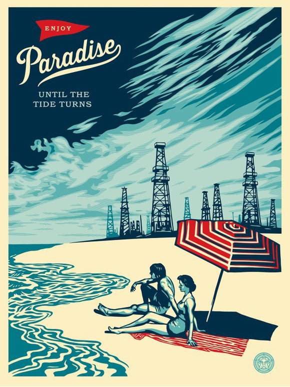 SHEPARD FAIREY AKA OBEY - Paradise Turns