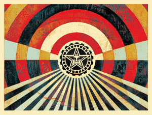 SHEPARD FAIREY AKA OBEY - Tunnel Vision Version 2 (Alternate Gold)
