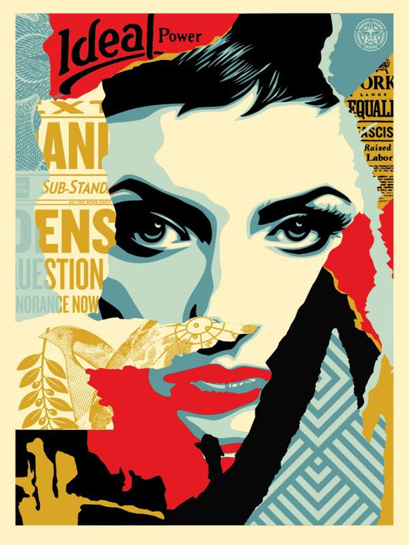 SHEPARD FAIREY AKA OBEY - Ideal Power
