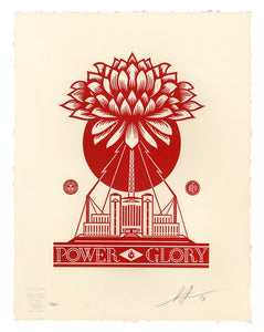 SHEPARD FAIREY AKA OBEY - Power glory