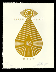 SHEPARD FAIREY AKA OBEY - Earth Crisis
