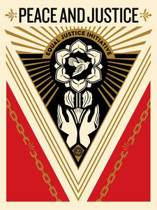 SHEPARD FAIREY AKA OBEY - Peace and justice summit