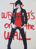 SHEPARD FAIREY AKA OBEY - Writing On The Wall Cream