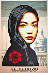 SHEPARD FAIREY AKA OBEY - We The Future / Rise To Write The Law