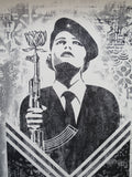 SHEPARD FAIREY AKA OBEY - Damaged Peace Guard