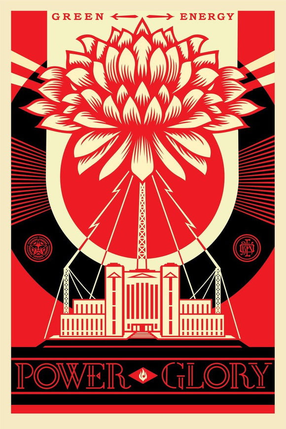 Shepard Fairey aka Obey - Green Power
