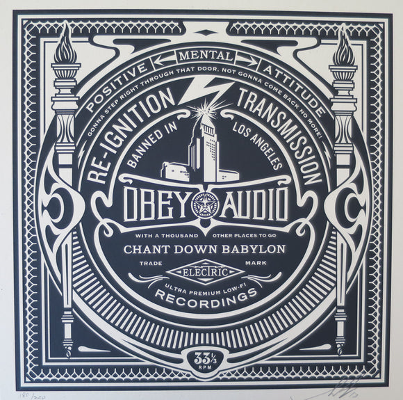 Shepard Fairey aka Obey - Re-ignition Transmission 2013