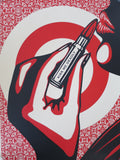 SHEPARD FAIREY AKA OBEY - KISS ME DEADLY (pattern)
