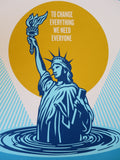SHEPARD FAIREY AKA OBEY - Peoples-Climate-March