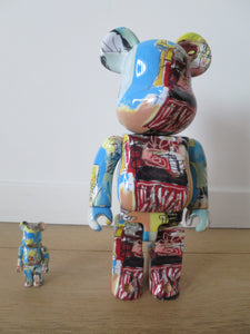 Be@rbrick - Jean-Michel Basquiat Vol. 6 ensemble 100% et 400%