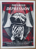 SHEPARD FAIREY AKA OBEY - The Greed Depression