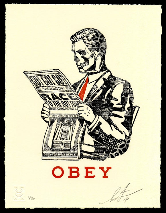 SHEPARD FAIREY AKA OBEY - Race to the Bottom