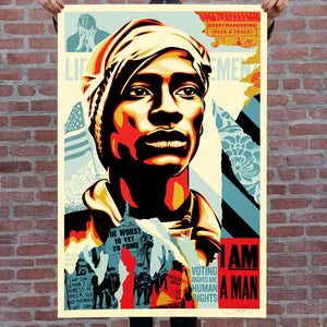 Shepard Fairey aka Obey - Voting Rights Are Human Rights