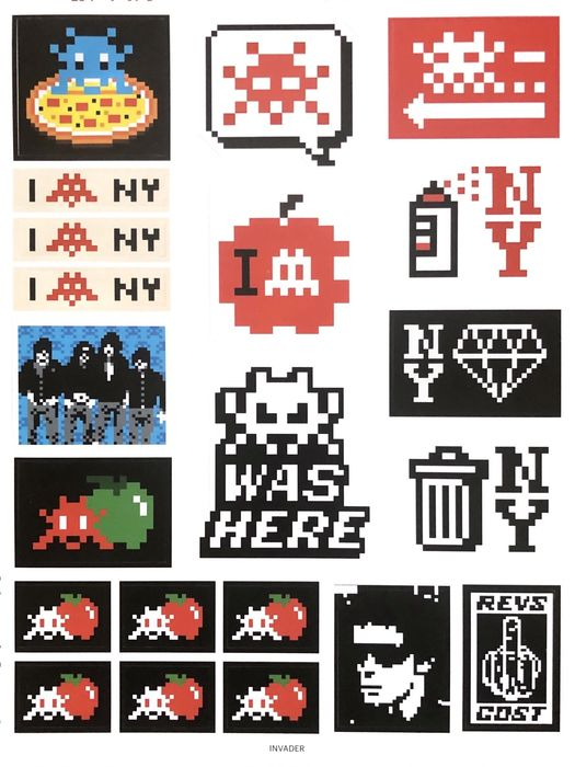 Space Invader - Stickers