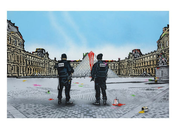 Nick Walker - The Morning After Le Louvre