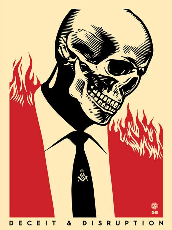SHEPARD FAIREY AKA OBEY - Deceit Disruption