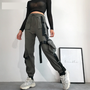 High Waist Hip Hop Cargo Pants