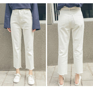 Jeans (White - Black - Blue)