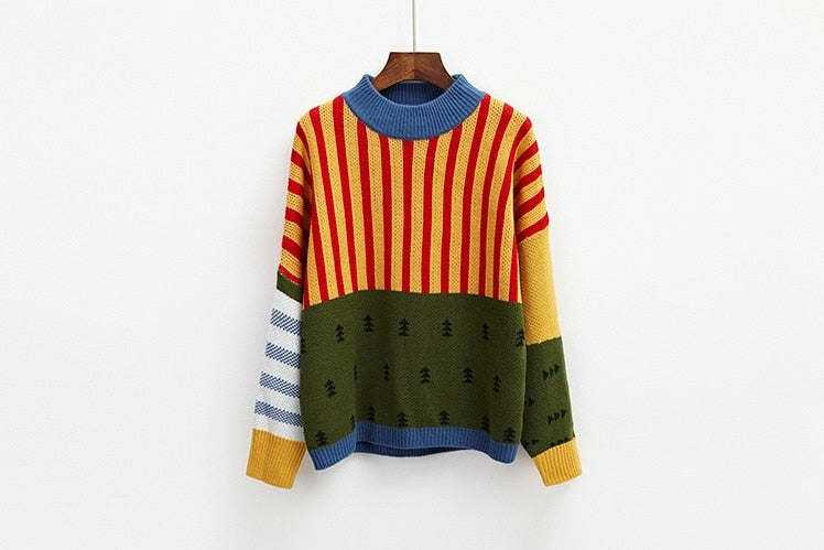 Colorful Vintage Sweater