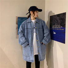 Big Pocket Loose Oversize Denim Jacket