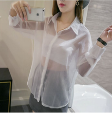 Transparent Shirt White