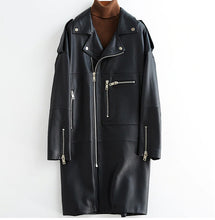 Oversize Loose Leather Jacket