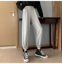 Solid Color Casual Jogger Pants