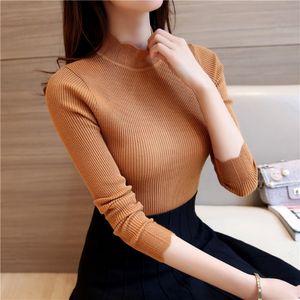 Turtleneck Sleeve Pullover