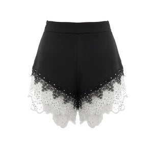 High Waist Lace Sexy Loose Shorts