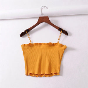 Summer Camisole Sexy Women Crop Top