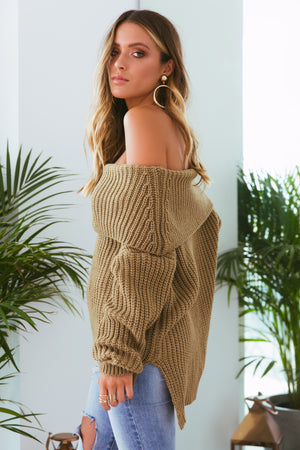 Reece Off the Shoulder Knit