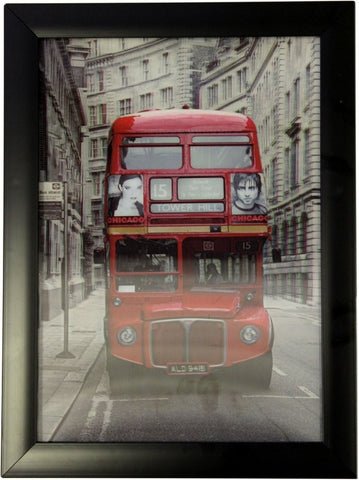 Iconic 3D 25x35cm - London Routemaster