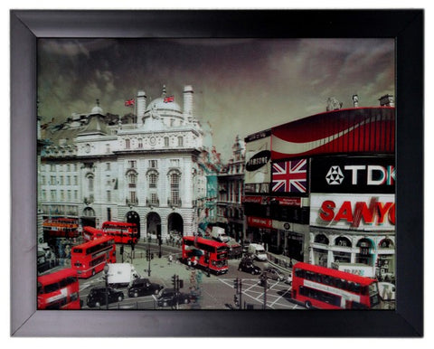 Iconic 3D 44x34cm - London Holiday